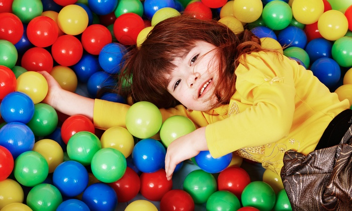 Lil' Monkeys Indoor Playgrounds Inc. - Burlington: Family Play Package or Birthday Party Package at Lil' Monkeys Indoor Playgrounds Inc. (Up to 72% Off)