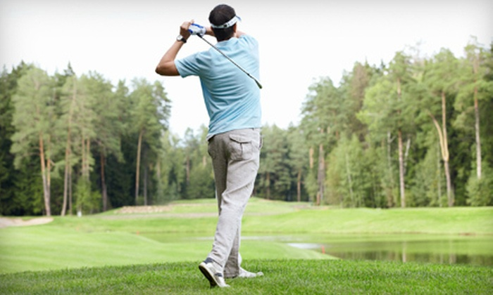 Pleasantville Golf & Country Club - Easter Lake Area: $30 for an 18-Hole Round of Golf for Two with Cart Rental at Pleasantville Golf & Country Club (Up to $64 Value)