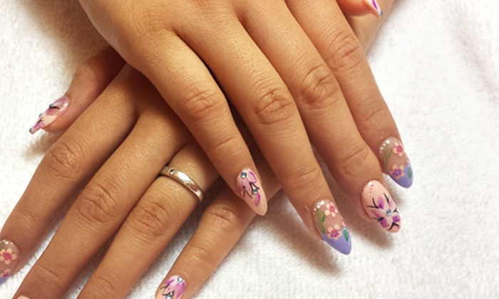 La Belle Nails - Lincoln: One or Three Gel Manicures with Spa Pedicures at La Belle Nails (Up to 59% Off)