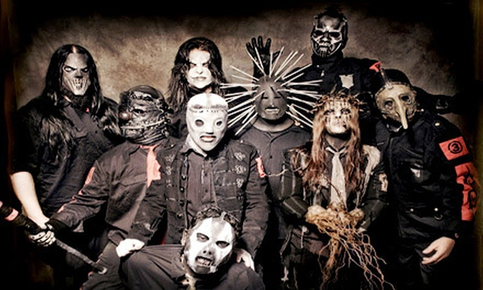 Slipknot - Holmdel: Slipknot Concert at PNC Bank Arts Center on August 8 at 7 p.m. (Up to Half Off). Two Seating Options Available.