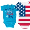 Kidteez Infant Fourth of July Bodysuits for Newborns to 18-Month-Olds