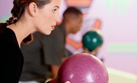 Monte Carlo or Regular Bowling at Bumpers Bowling & Family Fun Center (Up to 50% Off). Three Options Available.