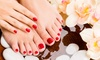 Nail Issuez - Nail Issuez: Two No-Chip Manicures, or a No-Chip Manicure and Basic Pedicure at Nail Issuez (Up to 44% Off)