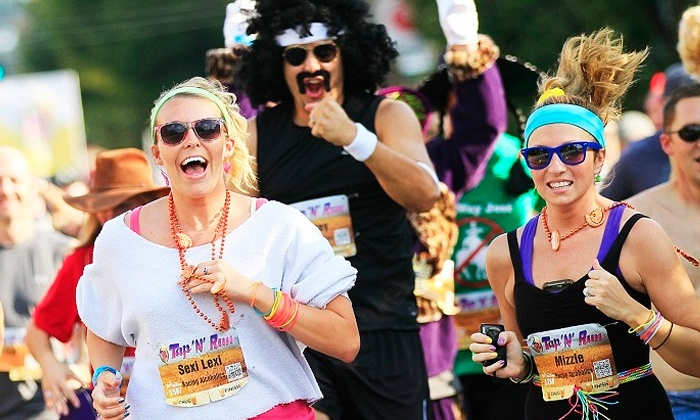 Tap 'N' Run - Downtown: $45 for VIP Entry to Tap 'N' Run Beer Race on April 12 ($75 Value)