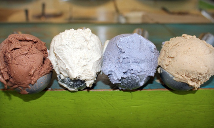 Vanilla Jill's Scoops and Soups - Whiteaker: $5 for $10 Worth of Ice Cream, Waffles, and Soup at Vanilla Jill's Scoops and Soups