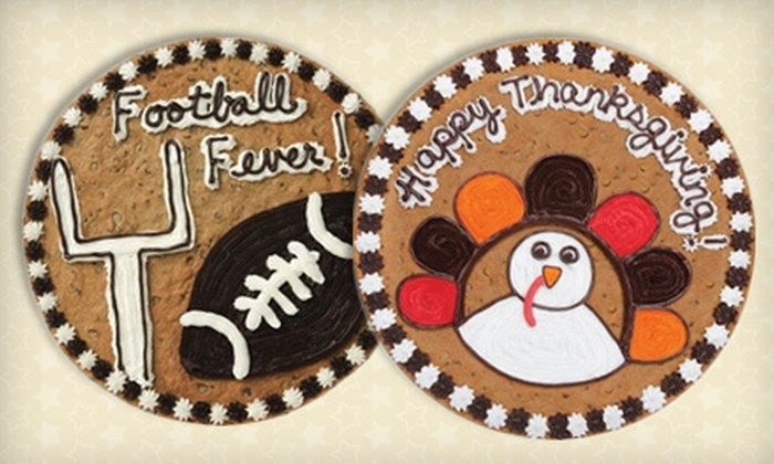 Great American Cookies - Multiple Locations: Cookies, Brownies, and Cookie Cakes at Great American Cookies (Up to 52% Off). Three Options Available.