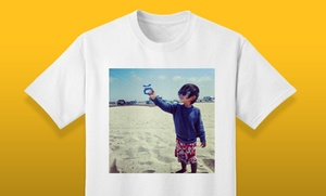 Theory Printing: One, Two, or Four Custom-Printed T-Shirts at Theory Printing (50% Off)