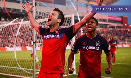 One Ticket and an Optional Shuttle Ride to the Chicago Fire Home Opener on March 14 at Toyota Park (Up to 46% Off)