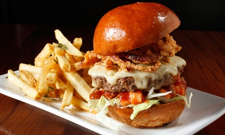 $19 for $30 Worth of Burgers and Sandwiches for Two or More at Lucky's Tavern