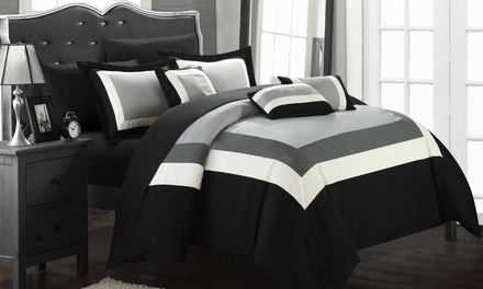 10-Piece Oversized Danny Comforter Set
