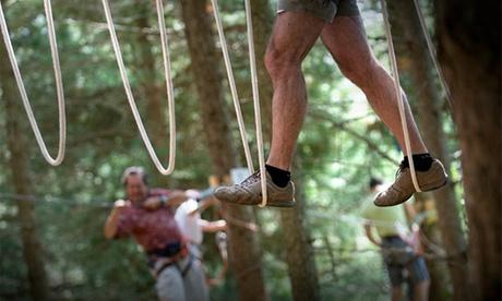 Acceso a circuito para una persona con altura de hasta 1,30 m o superior a 1,30 m desde 8 € en Parc Sant Hilari Aventura Oferta en Groupon