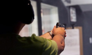 Ted's Shooting Range: Handgun or Rifle Shooting-Range Package for Two at Ted's Shooting Range (Up to 40% Off)