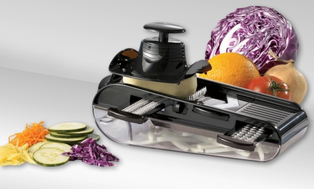 Starfrit Easy Mandoline Slicer with Container. Free Returns.