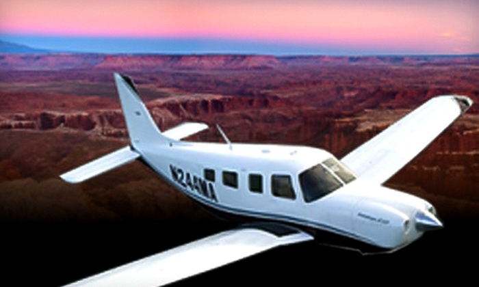Story Airways - North Las Vegas: Airplane and Riverboat Tour of Grand Canyon for One, Two, or Four from Story Airways (Up to 62% Off)
