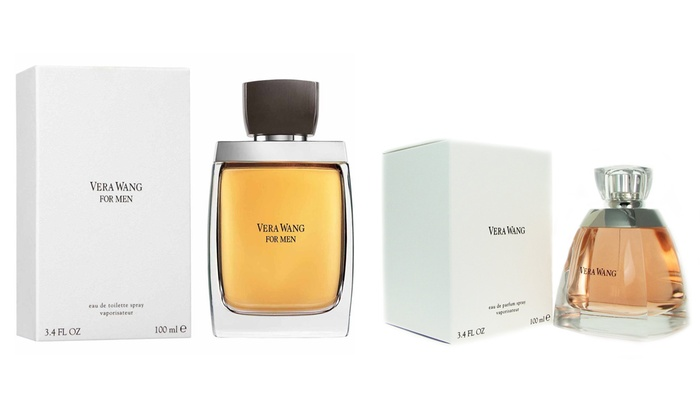 Groupon Goods Global GmbH: Vera Wang for Men EDT and Vera Wang for Women EDP 100ml from £22.99 With Free Delivery (Up to 66% Off)