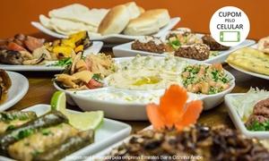Emirates Bar e Cozinha Árabe: Emirates Bar e Cozinha Árabe – Santana:rodízio e sobremesa para 1 ou 2 pessoas