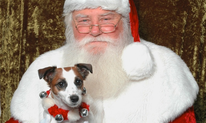 WorldWide Photography - Houston County Galleria: $26.99 for a Santa Photo Package, Redeemable Monday-Thursday at My Santa Experience ($45.98 Value)