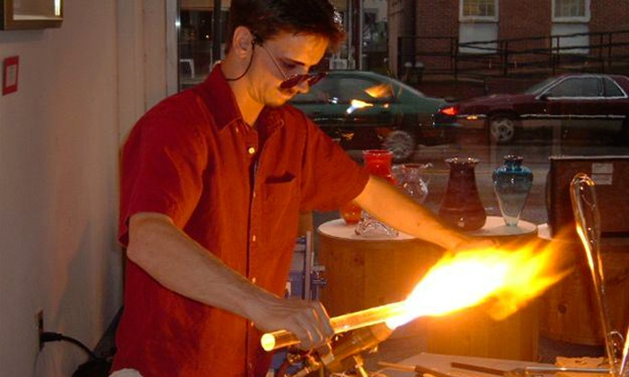 Michael Peluso - Multiple Locations: Introductory Glass-Blowing Class for One, Two, or Four from Michael Peluso (Up to 50% Off)