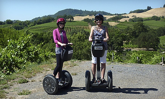 Segway of Healdsburg - Napa / Sonoma: $49 for a Russian River Vineyards Deluxe Segway Tour from Segway of Healdsburg ($99 Value)