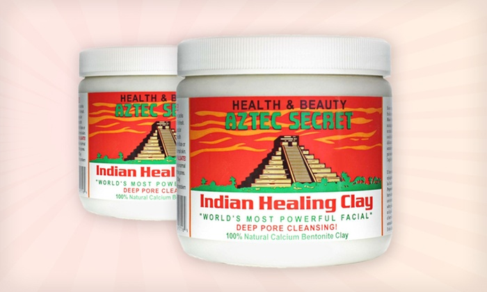 Aztec Secret Indian Healing Facial Clay: $11.99 for Two 1 Lb. Jars of Aztec Secret Indian Healing Facial Clay ($16.38 List Price)