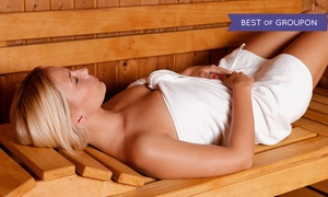 Tea Spa Wellness Center: One, Three, or Five 30-Minute Infrared Sauna Treatment at Tea Spa Wellness Center (Up to 53% Off)