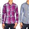 Elie Balleh Men's Slim-Fit Plaid Shirts
