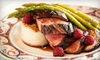 The Epicurean - Latham Farms Shopping Mall: Three-Course Dinner for Two, or $10 for $20 Worth of French Cuisine for Lunch for Two at The Epicurean Bistro & Wine Bar