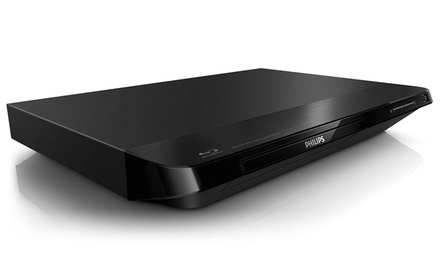 Philips 1080p Blu-ray Disc and DVD Player (BDP2100) (Manufacturer Refurbished)
