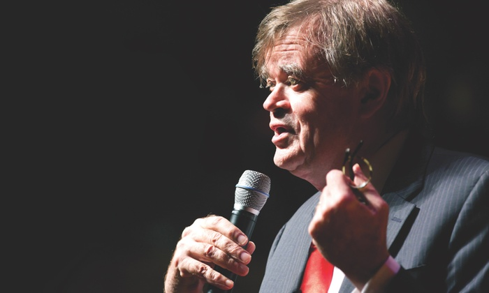 Garrison Keillor - Booth Amphitheater: Two Tickets to Garrison Keillor at Booth Amphitheater on August 9 at 7 p.m. (Up to 62% Off)