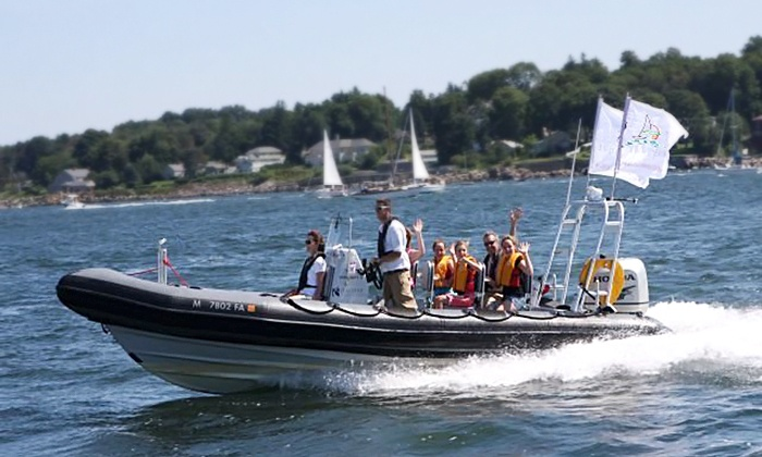 RIB Adventure Tours - North End: $79 for a 75-Minute High-Speed Boston Harbor Tour for Two from RIB Adventure Tours ($170 Value)