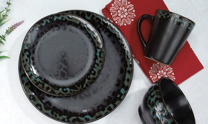 ... Cuisinart Jenna Collection 16-Piece Stoneware Dinnerware Set Cuisinart Jenna Collection 16-Piece : 16 piece stoneware dinnerware set - pezcame.com
