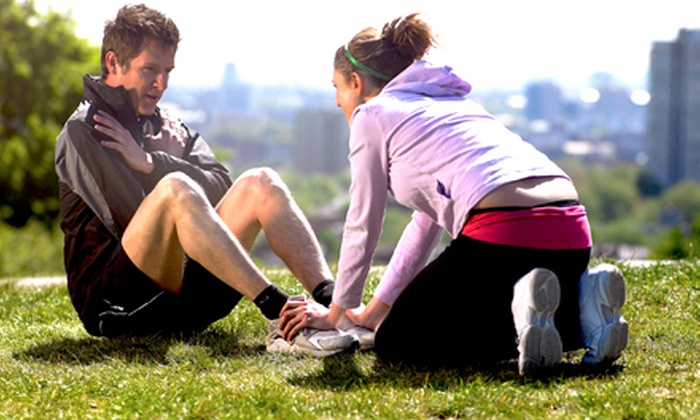 Chelmsford Sports Club and Fitness - Chelmsford: Four-Week Boot-Camp Challenge or Eight-Week Boxing Boot Camp at Chelmsford Sports Club and Fitness (Up to 67% Off)