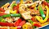 Capri Mex - Little Palestine: $10 for $20 Worth of Mexican Dinner Cuisine at Capri Mex