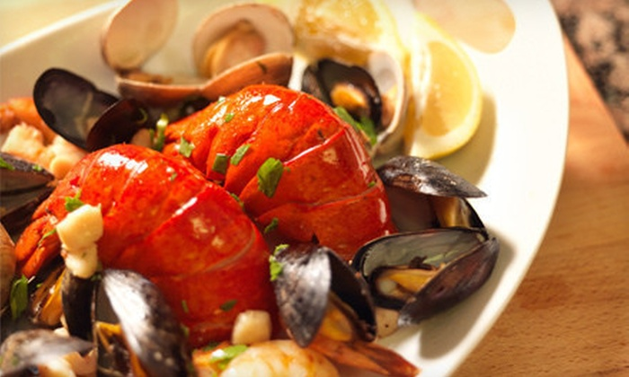 Lobster-Bake Package for Two or Four or 4, 6, 8, or 10 Live Maine Lobsters from GetMaineLobster.com (Up to 58% Off)