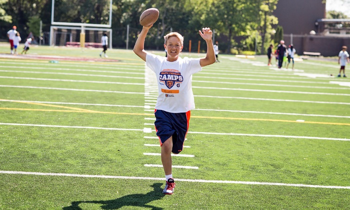 Chicago Bears Youth Football Camps - Multiple Locations: Chicago Bears Non-Contact Instructional Youth Football Camps, Full or Half Day Option, Ages 6-14. 25 Locations.