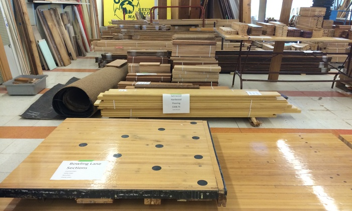 Odom Reusable Building Materials - Multiple Locations: $10 for $20 Groupon — Odom Reusable Building Materials
