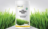 Grass Root Naturals Organic Wheatgrass Powder (100 Servings)