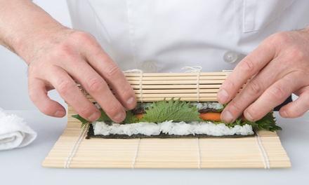 Curso de preparación de sushi con degustación para 1 o 2 desde 19,90 € en Sushiwakka