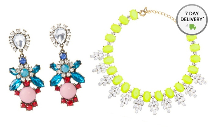 Ally + Zoe Statement Jewelry: Ally + Zoe Statement Necklaces and Earrings. Multiple Styles Available. Free Returns.