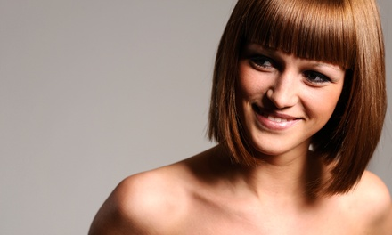 Haircut Package with Optional Color Service, or One or Two Mani-Pedis from Laura Sumner at Blades Salon (Up to 60% Off)