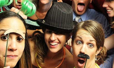 $350 for a Three-Hour Photo-Booth Rental from Vintage Photography ($700 Value)