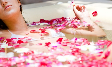 $55 for a Beauty Package with Body Scrub, Wrap, and Mini Facial at Sterling Inn & Spa ($140 Value)