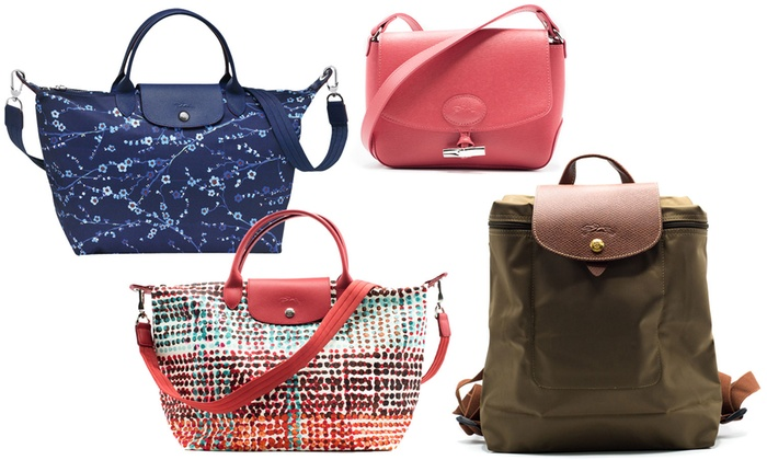 ebdf6c81140a Up To 14% Off on Longchamp Le Pliage Totes & Bags | Groupon Goods