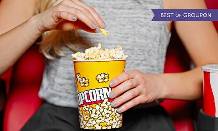 Movie for Two or Four with Small Popcorn at Fox Bay Cinema Grill (55% Off)