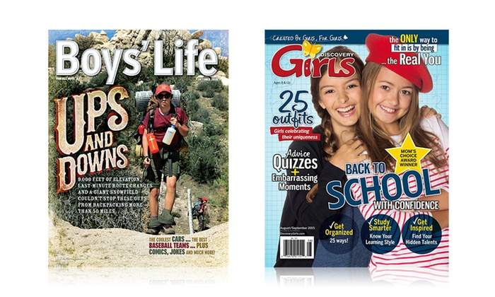 Boys' Life or Discovery Girls | Groupon Goods