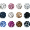 Ball Studs with Swarovski Elements (3-Pack)