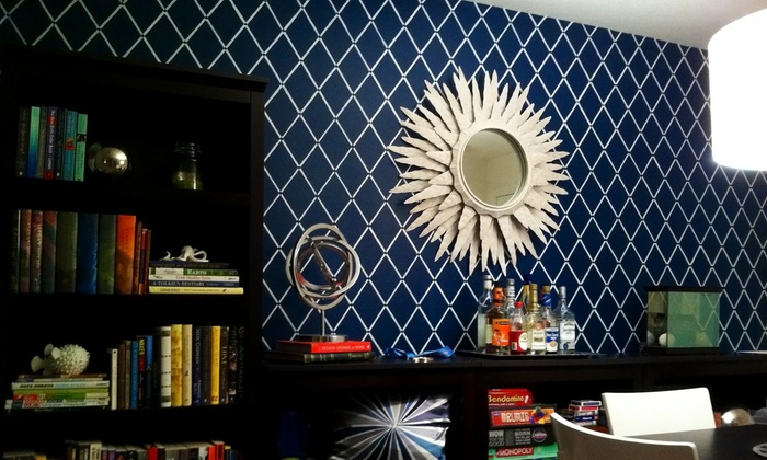 Faux Real Custom Design, LLC - Orlando: Custom Stenciling for a Small, Medium, or Large Wall from Faux Real Custom Design, LLC (Up to 57% Off)