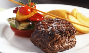 Left Bank Restaurant at Stonehedge Inn & Spa: Upscale Three-Course Dinner for Two or Four at Left Bank Restaurant at Stonehedge Inn & Spa (Up to 49% Off)