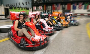 Blastacars Drift Karts: 15-Min Drift Kart Experience: 1 (From $17.50), 2 ($51) or 6 People ($150) at Blastacars Drift Karts (From $17.50 Value)