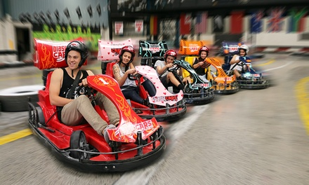 15 Min Drift Kart Experience: 1 (From $17.50), 2 ($51) or 6 People ($150) at Blastacars Drift Karts (From $17.50 Value)